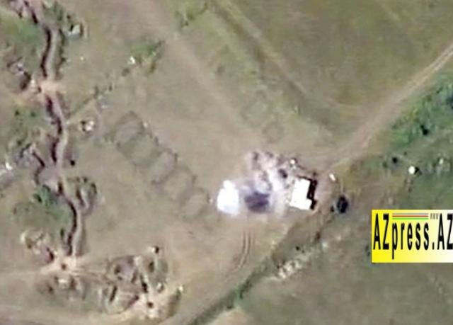 Command post of artillery battery of the Armed Forces of Armenia was destroyed - VIDEO