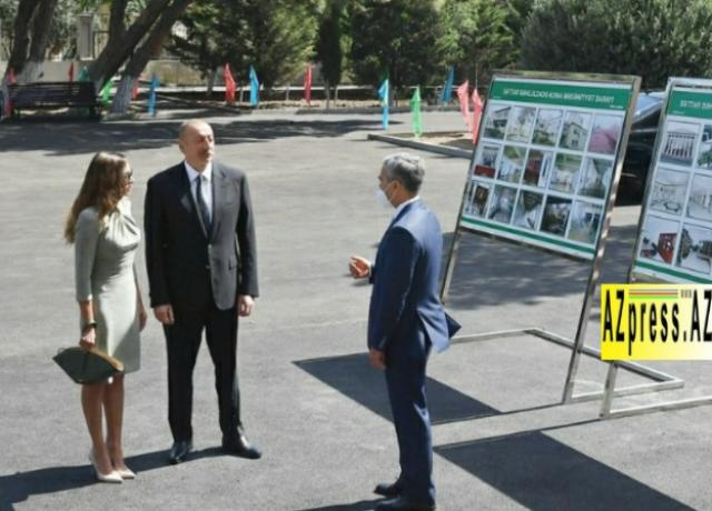 Ilham Aliyev attended opening of Sattar Bahlulzade Culture House in Surakhani district - PHOTO=15