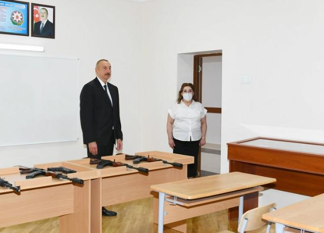 Ilham Aliyev viewed renovation work carried out at school No. 251, inaugurated new block of the school PHOTO+VİDEO=19