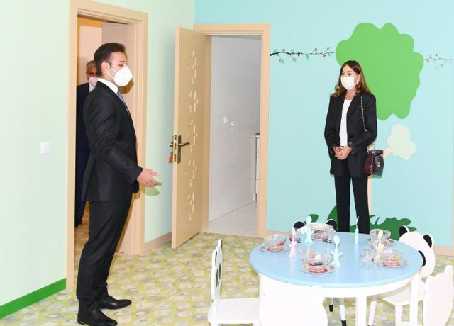 New building of kindergarten No.212 inaugurated in Shaghan settlement First Vice-President Mehriban Aliyeva attended the event  -PHOTO+VİDEO=20