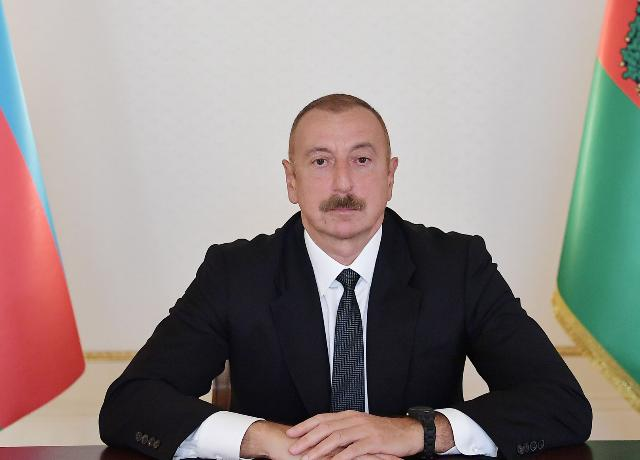 Video message of President Ilham Aliyev was presented at the opening ceremony of 71st IAC 2020