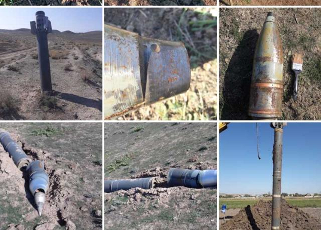 2 pieces of meteorological radio direction detectors used for military purposes and 31 explosive shell remnants were found as a result of the mission - POTO