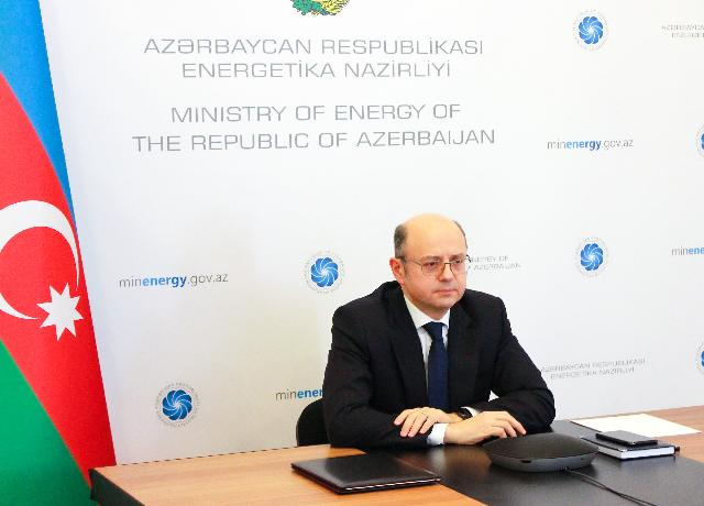 "Minister of Energy made a presentation at the webinar organized within the ""Yukselish"" competition"