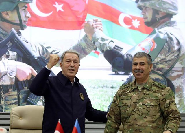 Azerbaijan Defense Minister left for Turkey
