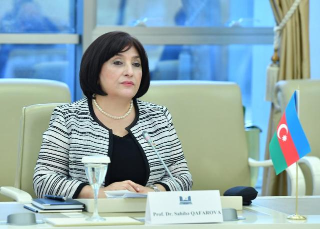 Parliamentary Delegation led by Chair of Milli Majlis Sahiba Gafarova to Visit St Petersburg